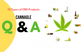 12 Types of CBD Products